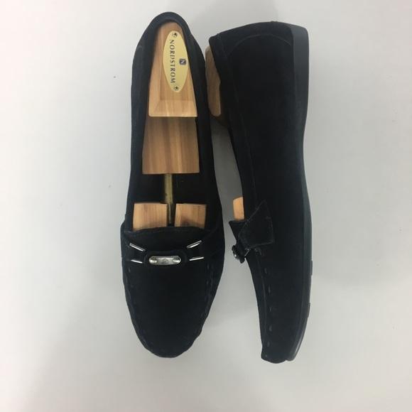 c95ed13210b Attilio Giusti Leombruni Shoes - AGL- Soft Black Suede Loafers
